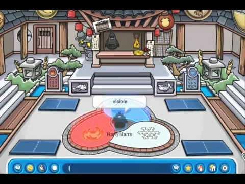 Club penguin secrets: How to become an ice ninja and shadow ninja (PATCHED)
