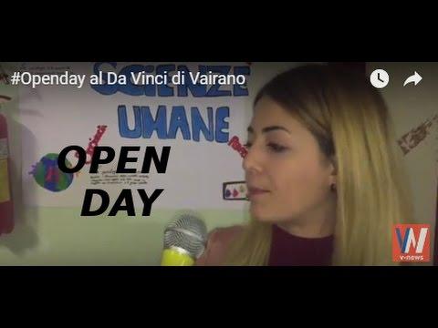#Openday al Da Vinci di Vairano