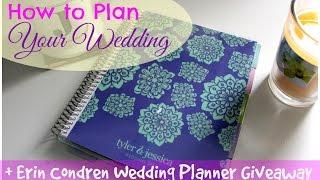 Erin Condren Wedding Planner 2015 | Review & Close-ups