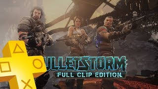 Bulletstorm: Full Clip Edition PS Plus Free Game From November 2018 - December 2018