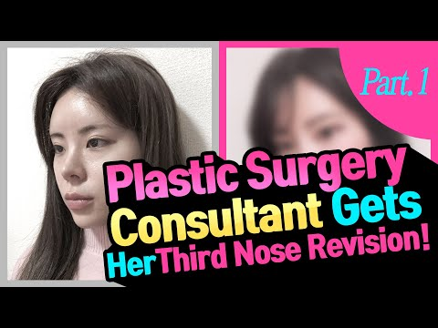 Review: Japanese Plastic Surgery Consultant Gets Her Third Nose Revision! Pt. 1