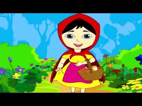 Little Red Riding Hood   लिटिल रेड राइडिंग हुड   Fairy Tales In Hindi   Hindi Pari Kahani