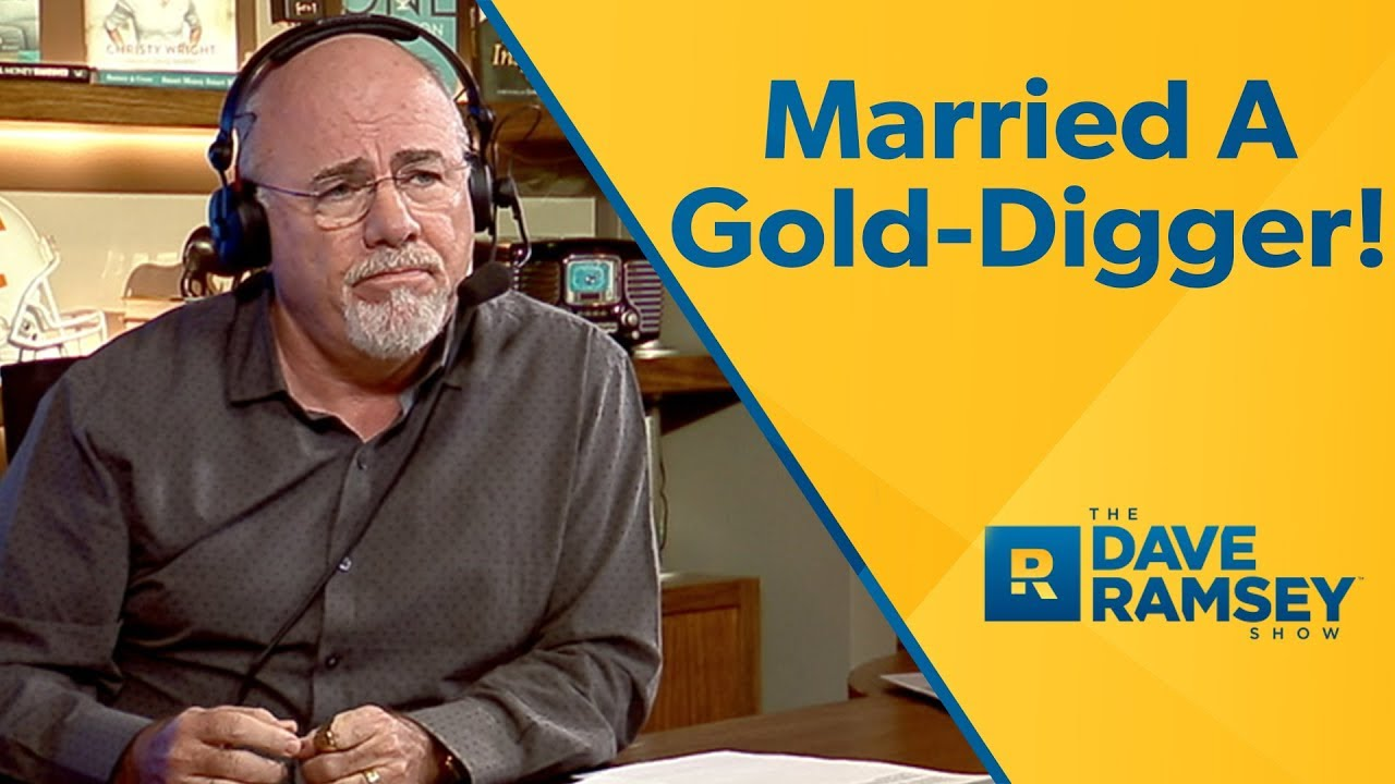 Father dating gold digger
