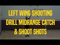 Left Wing Shooting Drill Midrange Catch & Shoot Shots | Dre Baldwin