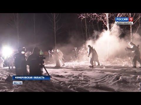 Киногруппа фильма «Снежные призраки» вернулась со съемок в Юрге