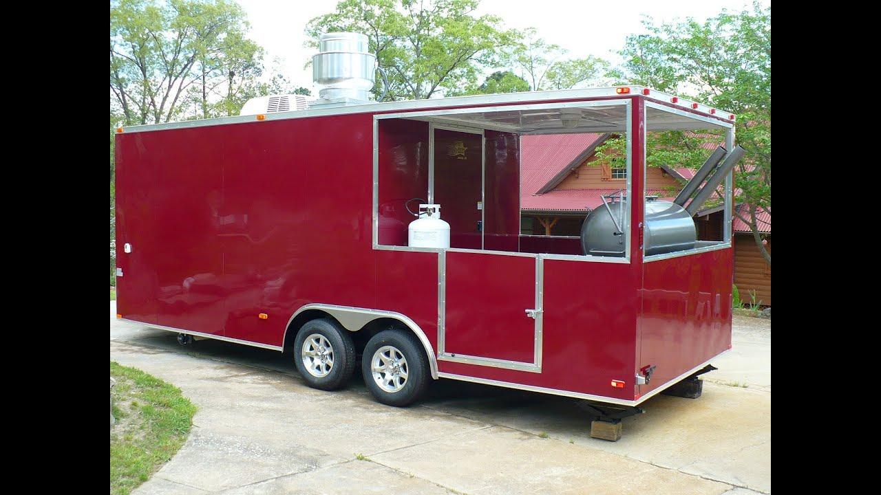 Loaded BBQ Porch Concession Trailer 2013