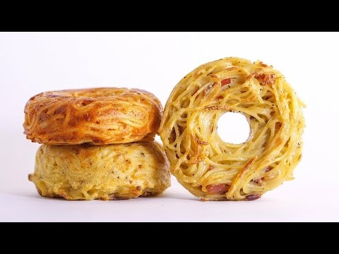 Would You Try A Spaghetti Donut?