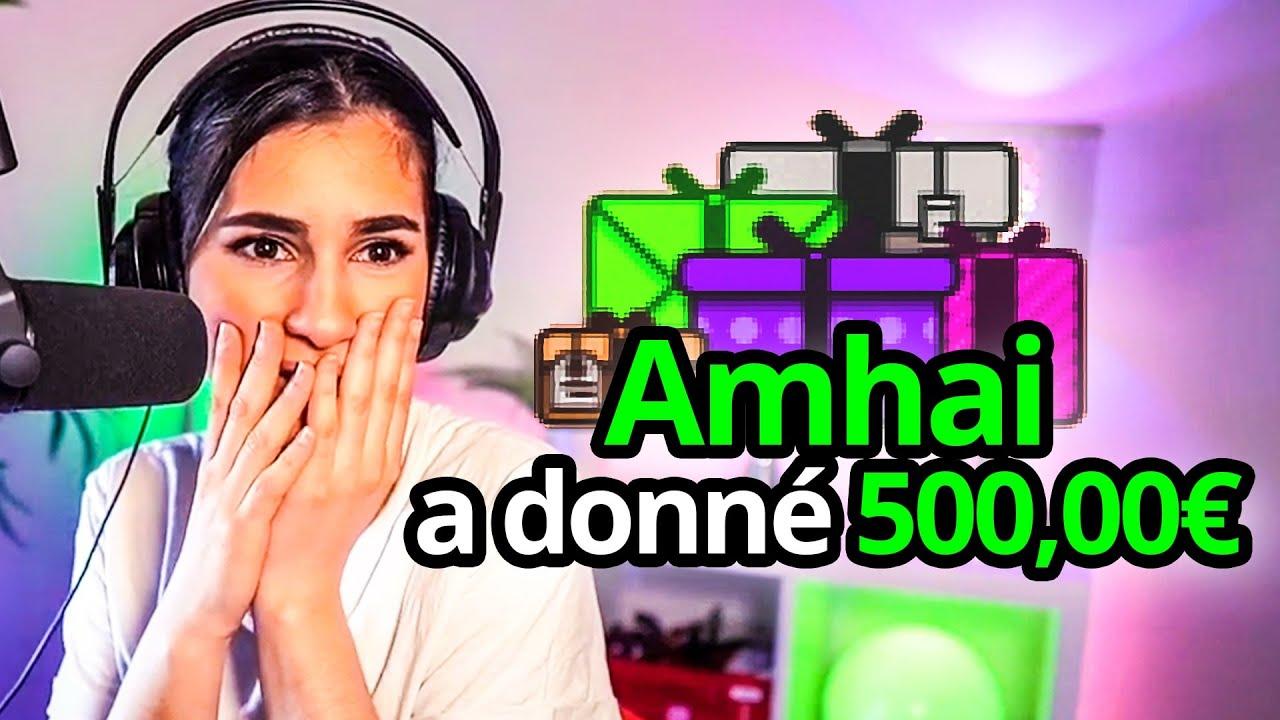 Il Fait Des Dons à Tout Le Monde ! (500€ dons Twitch)