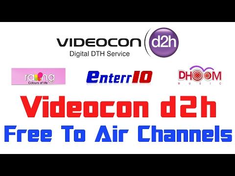 videocon d2h aaj tak hd channel number