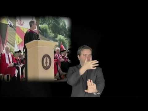 Steve Jobs Stanford Commencement Speech ASL