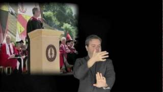 Steve Jobs Stanford Commencement Speech ASL