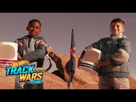 Misión a Marte  Track Wars  Hot Wheels