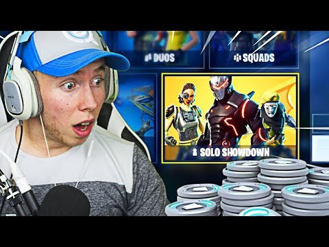 NEW 'SOLO SHOWDOWN GAMEPLAY' LTM  IN FORTNITE! WIN 50,000 FR