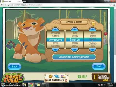 How to login in animal jam
