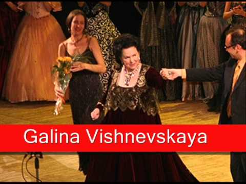 Galina vishnevskaya bellini norma 39 casta diva 39 youtube - Norma casta diva bellini ...