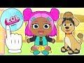 BEBE LILY ?? Lily y su mascota se disfrazan de LOL Surprise Serie 3 y LOL Pets | Dibujos LOL Dolls