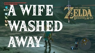 Zelda Breath of the Wild - Find Mei, A Wife Washed Away Side Quest Tutorial and Location