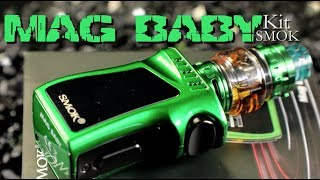 SMOK Mag Baby 50W Kit with Baby Prince Tank ~Vape Mod Kit Review~