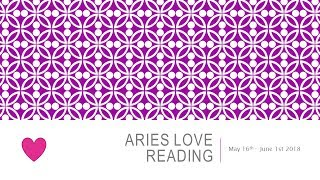 ARIES LOVE - RECONCILIATION WITH A PAST LOVER