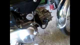 Звук racer delta 72 cc без глушителя