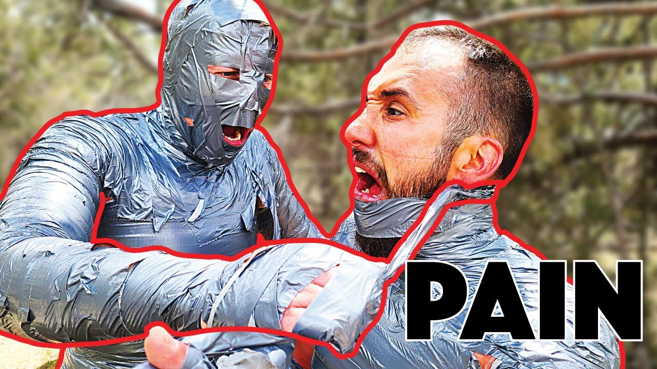 Download Mummified with duct tape - ABSOLUTE TORTURE