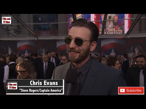 Chris Evans feels intimidated at the Captain America Civil War World Premiere