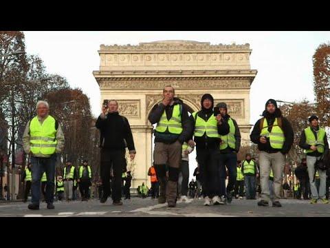 Sábado, o dia dos protestos dos coletes amarelos