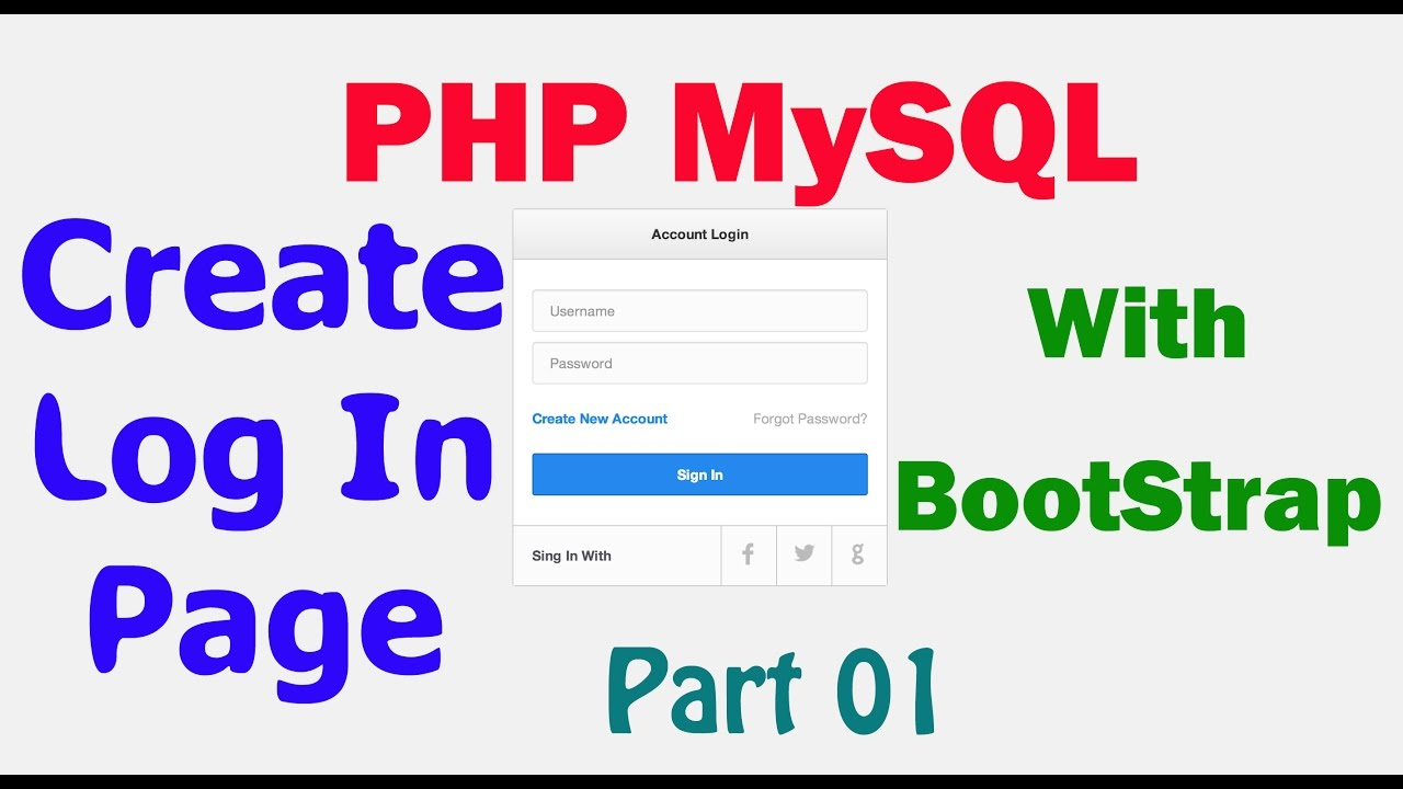 Android login and registration with php and mysql tutorial youtube.