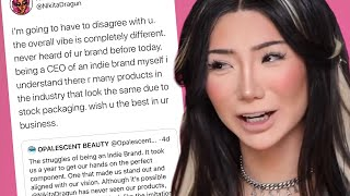 Nikita Dragun accused of STEALING from a small brand... YouTube Videos