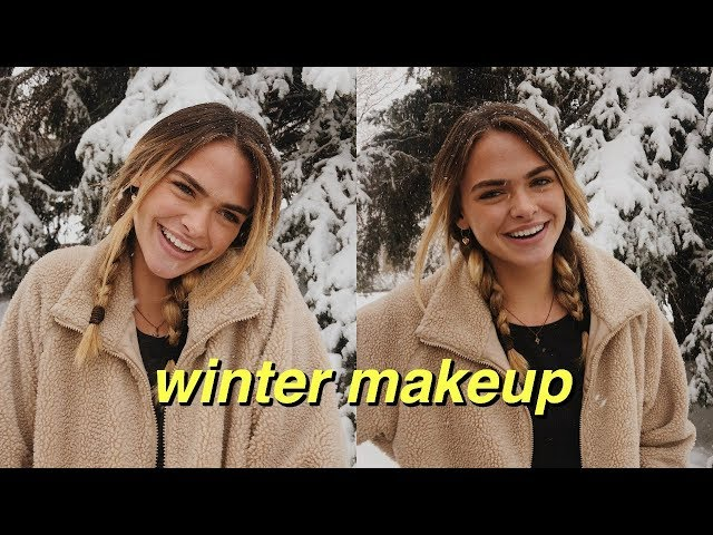 Everyday Drugstore Makeup for the Winter