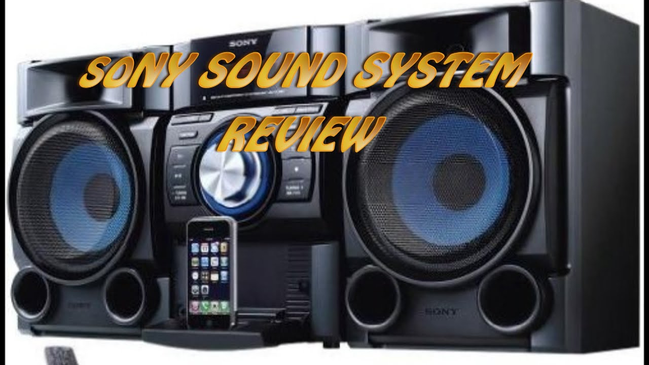 sony sound system review youtube