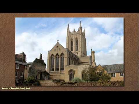 BBC Choral Evensong: St Edmundsbury Cathedral 1998 (James Thomas)