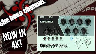 Tech 21 DI-2112 Geddy Lee Signature SansAmp Demo