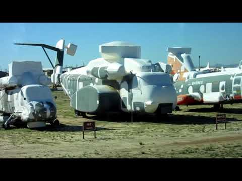 """Pima Air & Space Museum and the AMARG """"Boneyard"""""""