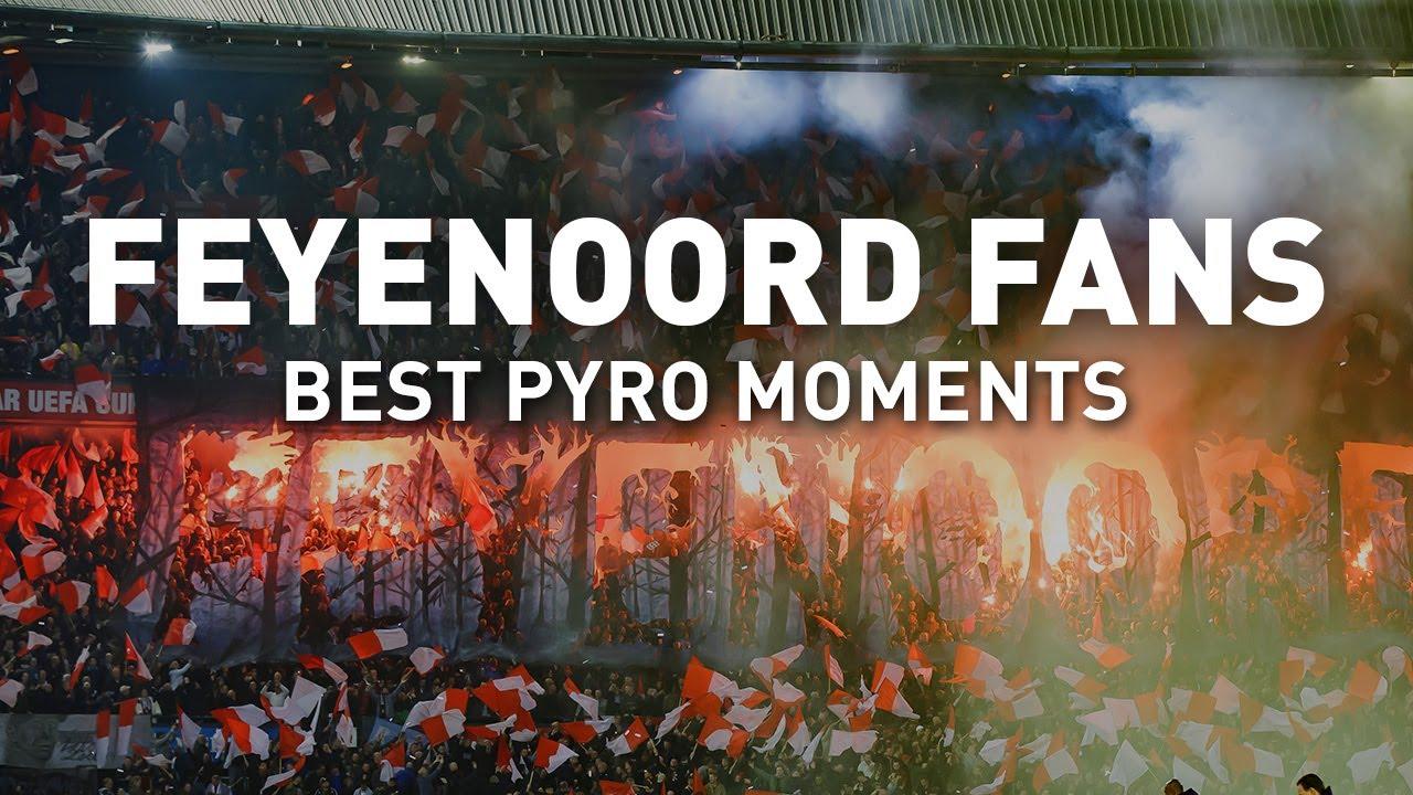 Feyenoord Fans - Best pyro moments 2019