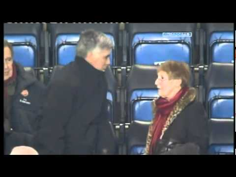 Chelsea Boss Carlo Ancelotti Told to Move Seats By Old Woman