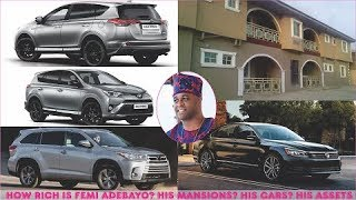 How Rich is Femi Adebayo in 2019  All His Mansions Cars Luxuries  Assets