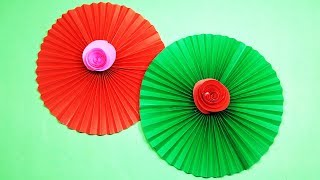 কাগজ দিয়ে সুন্দর একটি ফুল তৈরি || Easy Making Paper Flower
