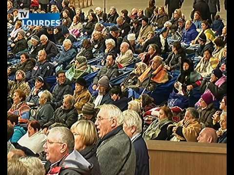 Lourdes Messe Internationale du mercredi 14 oct. 2015-International Mass (France)