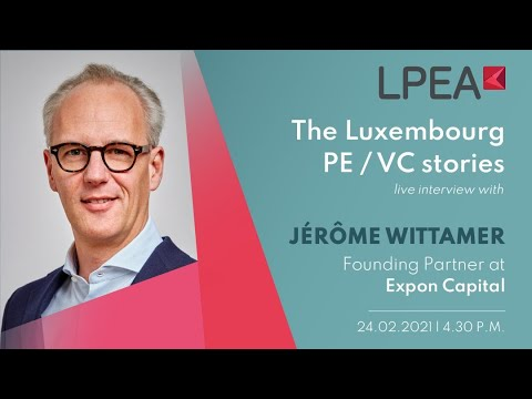 The Luxembourg PE/VC stories with Jérôme Wittamer