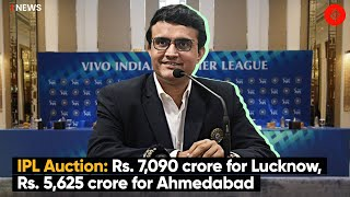 IPL Auction: Rs. 7,090 Crore For Lucknow, Rs. 5,625 Crore For Ahmedabad