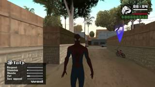 Gta San Andreas The Amazing Spiderman 2 Skins/Mod (W.I.P)