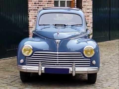 Peugeot 203, model year 1949