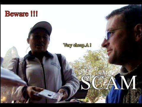 Scam in China.  Shanghai tourists beware!!!
