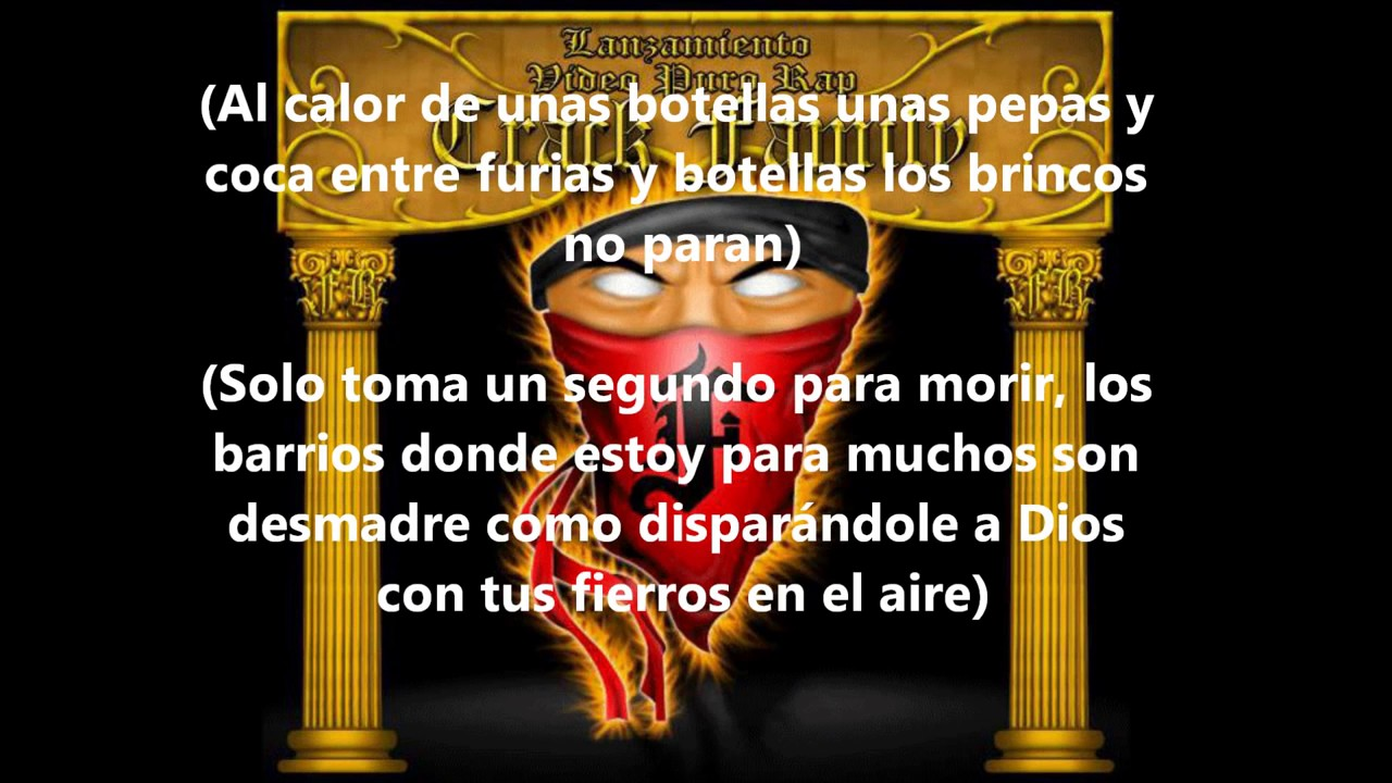 La Furia Fondo Blanco Letra Youtube