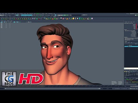 "CGI & VFX Tutorials: ""Dude -Maya Rig -Intro"" - by Ahmed Shalaby | TheCGBros"