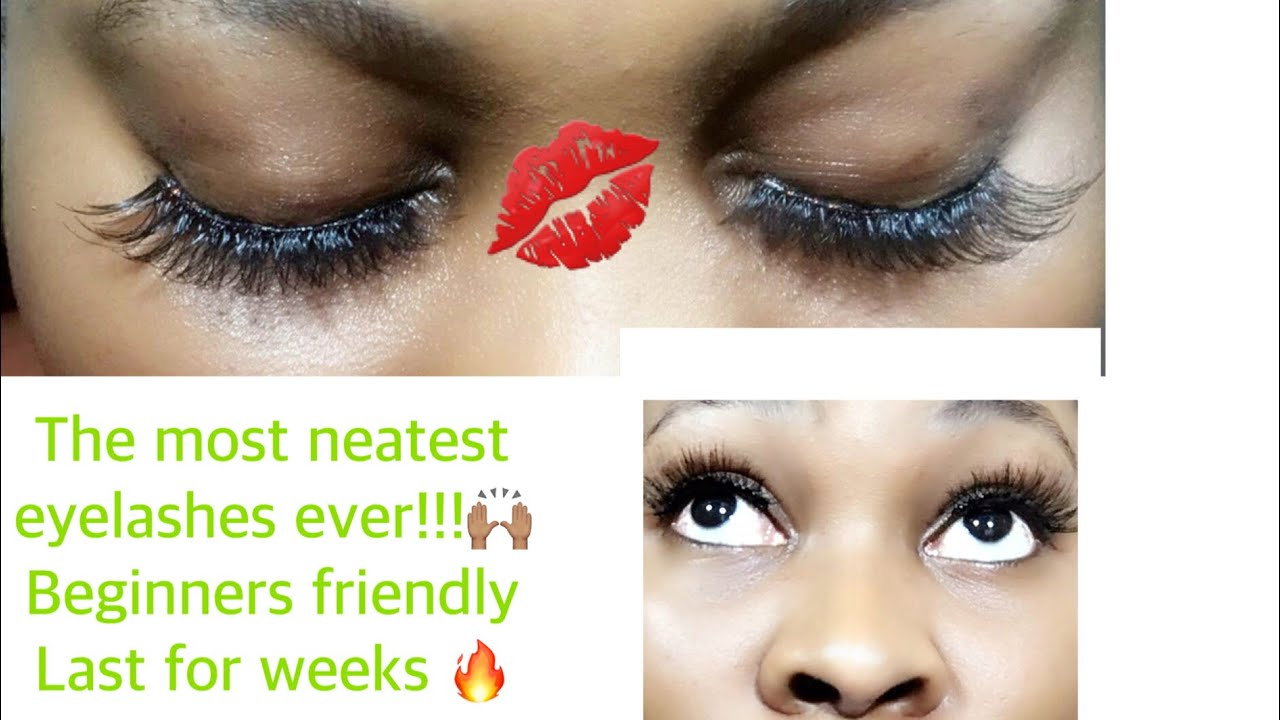 Eyelashes Neatest Eyelashes Ever Last For Weeksbeginners Friendly