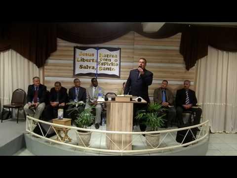 Pregação Presbítero Pedro Gomes
