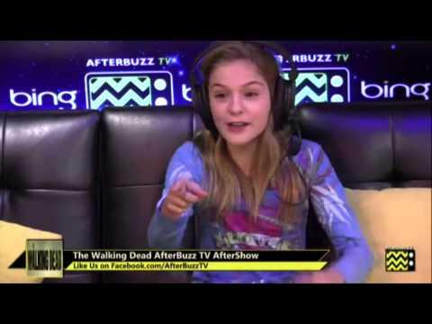 Brighton Sharbino Walking DeadTrue Detective  Highlights  AfterBuzz TV