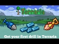How to get your cobalt drill in Terraria| Get your first drill in Terraria |first drill in terraria